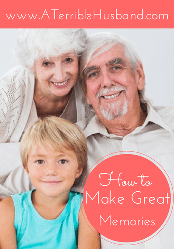 How to Make Great Memories